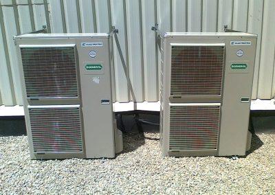 Refrigeración cuadro control