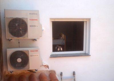 Climatización vivienda unifamiliar
