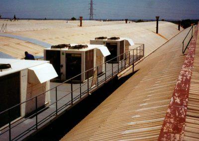 Instalación equipos roof-top