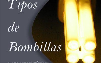 Tipos de bombillas y su consumo