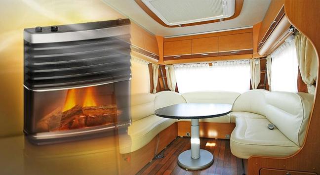 Distintos tipos de sistemas de calefaccion en caravana