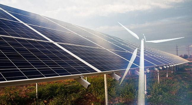 Crecimiento de la energias renovables como fuente de electricidad
