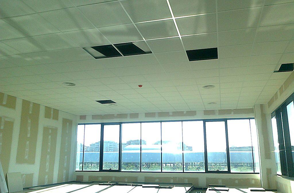 Climatización de oficinas. Castellón