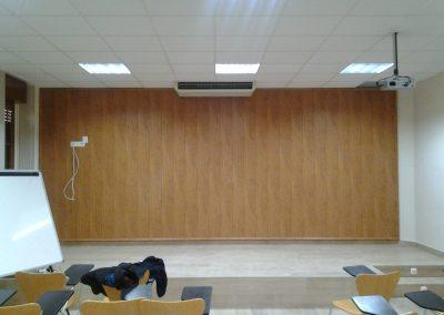 Climatización en salón de actos