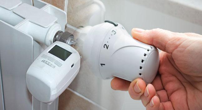 El uso de las válvulas termostáticas